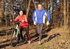 Finnscoot Roller speziell für Läufer
